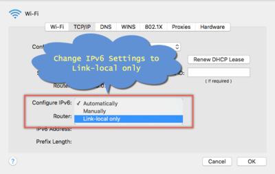 IPV6配置修改