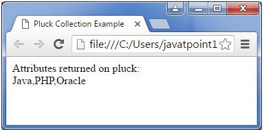 BackboneJS Pluck Collection